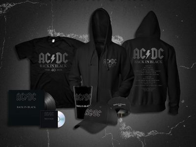 AC/DC Official Store Celebrates the 40th Anniversary of Back in Black