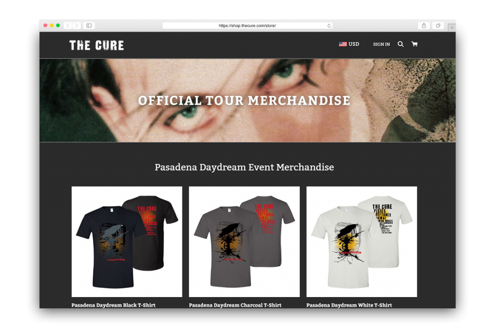 image of The Cure storefront