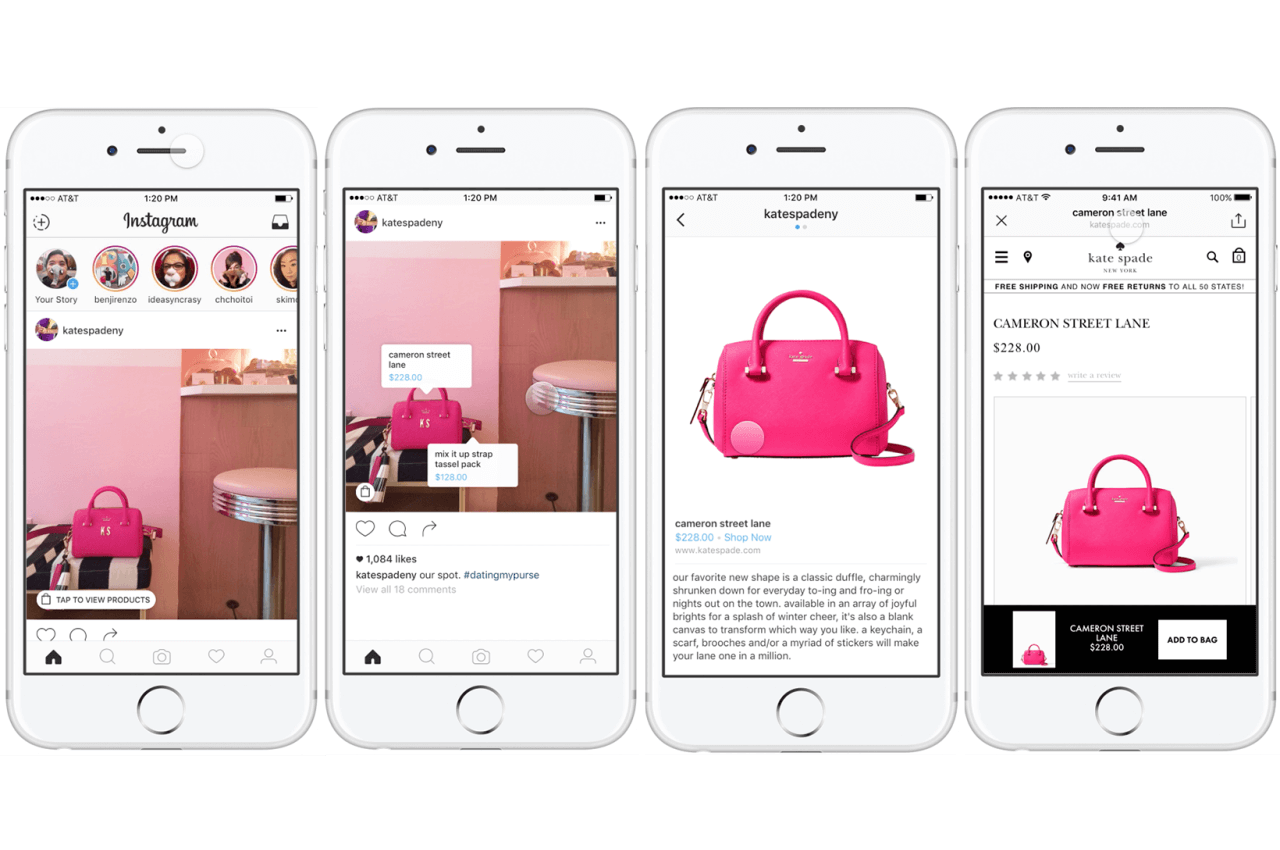Shoppable Instagram Ads